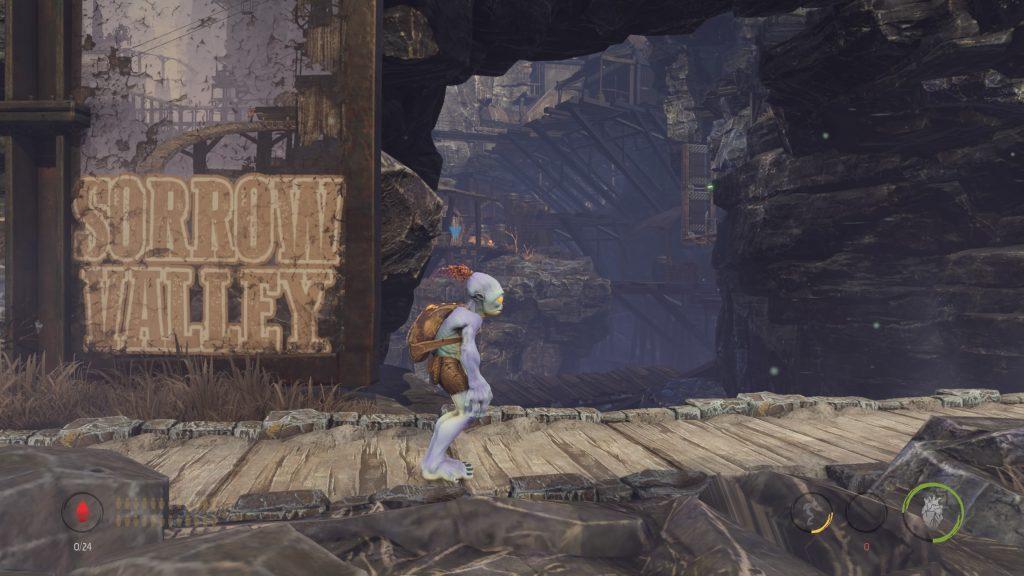Capture personnelle d'Oddworld: Soulstorm