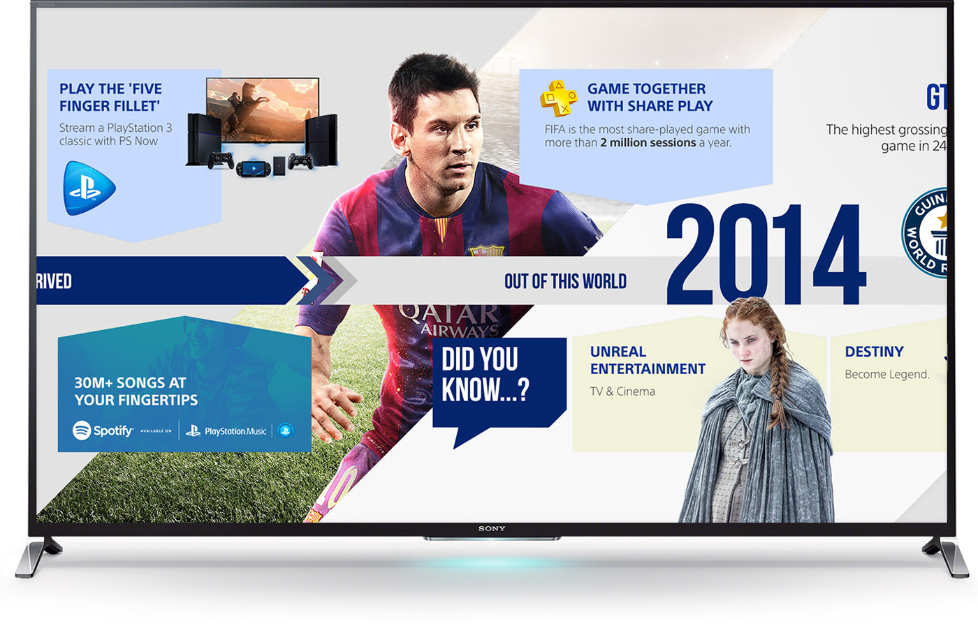 Année 2014 pour PlayStation
