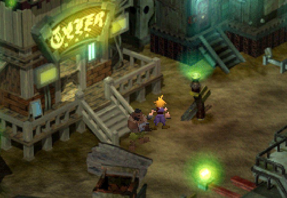 Final Fantasy VII - map