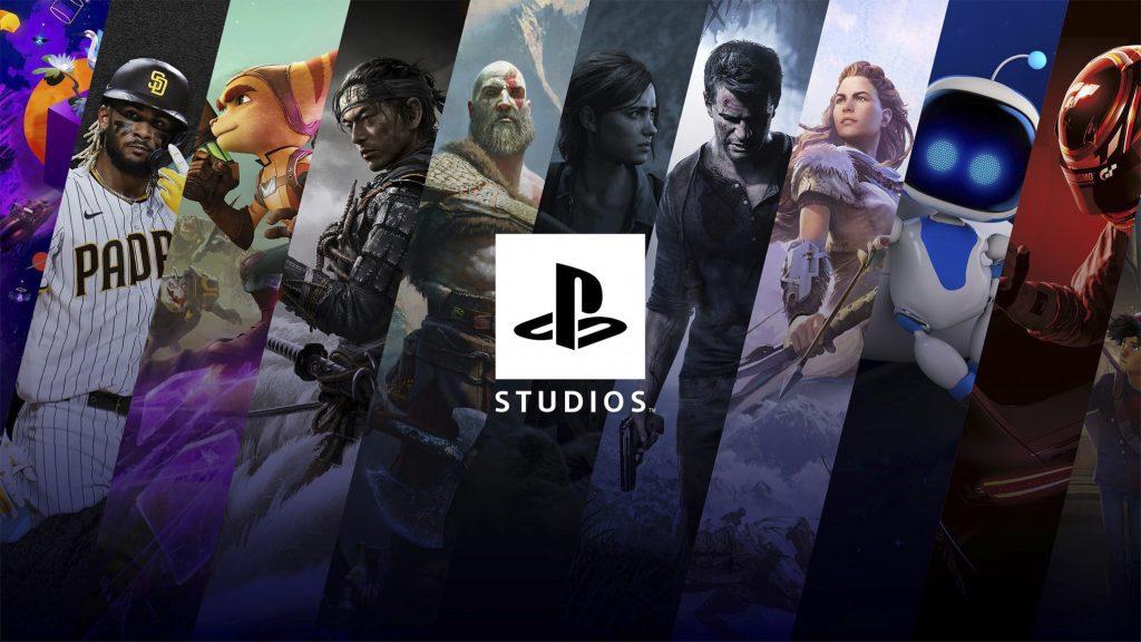 Galerie des PlayStation Studios, propriétés de Sony
